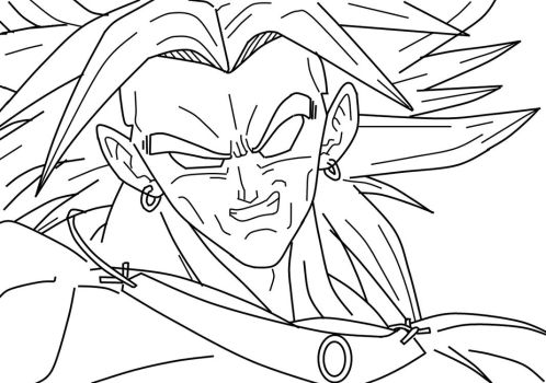 Broly_CloseUp_WIP by carapau