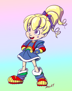 Rainbow Brite by psocid