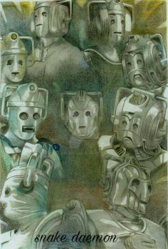 evolution of the cybermen by snakedaemon