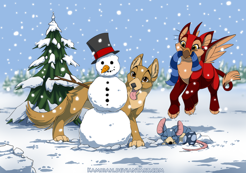 Ovipets - Winter picture by Kamirah