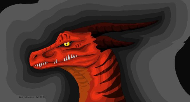 Dragon 12-25-13 by Thedragonlover99