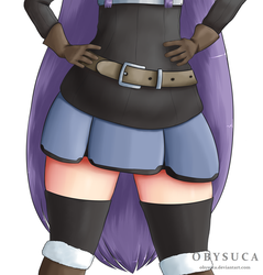 Just some thighs by Obysuca