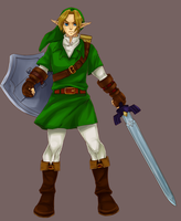 LoZ: OoT Link by norong