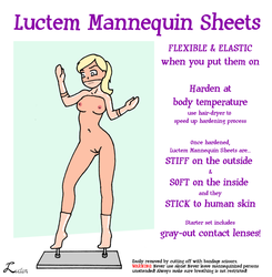 Mannequin Sheets by luctem