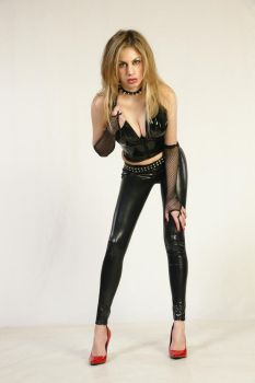 Girl in latex II by CrowsReign-Stock