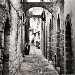The Streets of Rhodes by hquer