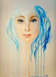 ...and she is so blue by ilonand