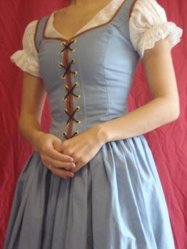 OUAT Belle Cosplay 4 by Lady-Lovelace