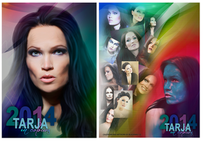 Tarja in Colours 2014 by perlaque