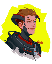 Blackwatch Moira by Ciorane
