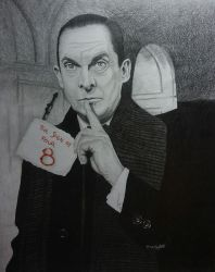 The original Sherlock Holmes - Jeremy Brett by mousykat