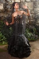 The Lone Black Bride by G1Photography