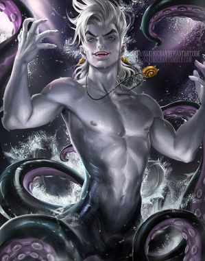 Male!Ursula/Reader part 1/2 - Poor Fortunate Soul by MiyuxTheNobody