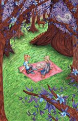 Forest Picnic by Neko-Meep