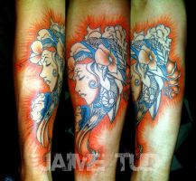 Gypsy by JaimeTudTattoos