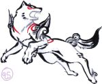 Okami test by WrenShimmamora