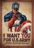 Captain America Want U by aRmydesigner