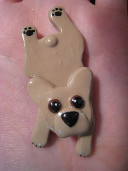 French Bulldog Pin by DreamEyce
