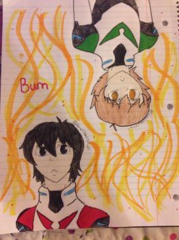 Kidge Day One Burn by Anime7Otaku7Artist7