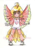 #366 Days of Sketches - 342 - Ho-Oh by SatraThai
