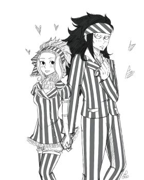 Assortiment / Gajeel x Levy  First version by ShadeOfUmbrella