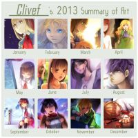Summary art 2013 by christon-clivef