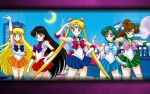Sailor Moon Wallpaper by CatCamellia
