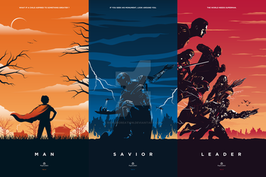 SUPERMAN Trilogy by RicoJrCreation