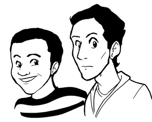 Troy And Abed by Crave-The-Bullet