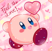 Kirby:  Feel the Love by Domestic-hedgehog