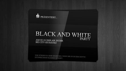 BLACK AND WHITE PARTY by vmelnik