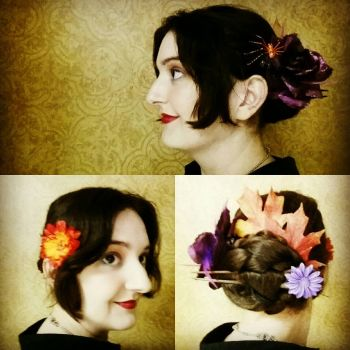 Halloween Hairstyle by E1L0n3wy