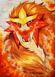 Entei - Brightest Flame by andropov97