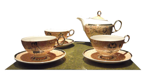 Tea set png by svetamk