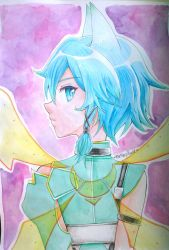 Sinon (ALO) Watercolor by MiaMaryPunkt
