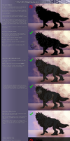 Tutorial - How to color Black characters by YouAreNowIncognito