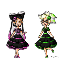 Callie and Marie Cinco de Mayo by ninpeachlover