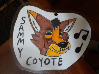 I made a badge! by GrizzlyWolfSam