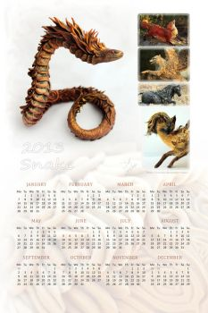 2013 Snake Year by hontor
