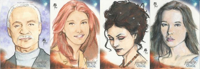 Firefly sketchcards 1-4 by abraun