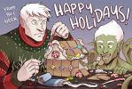 December Delights - Holiday Card 2016 by neekko