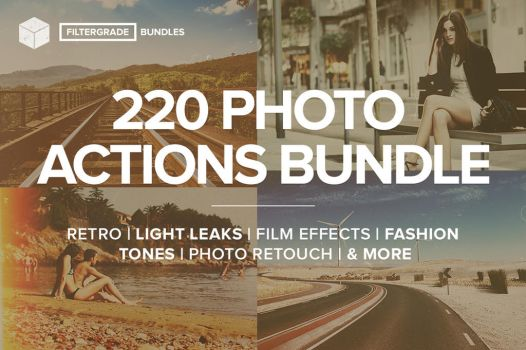 Photoshop Actions Bundle from FilterGrade by filtergrade
