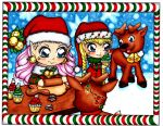 Christmas Coloring contest by BevyArt