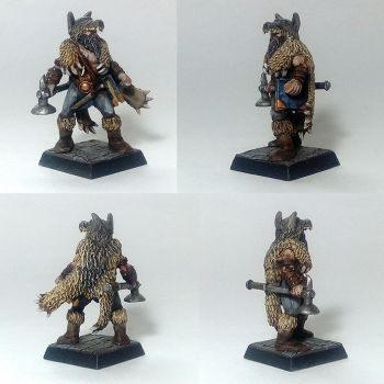 Mord Wolf Priest of ulric by Nordic-Dragon