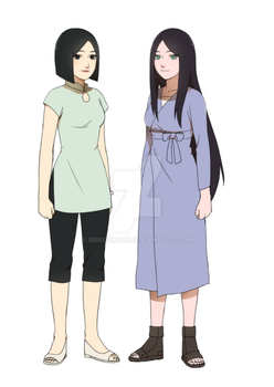 {Mothers of kakashi and might guy} by Rarity-Princess