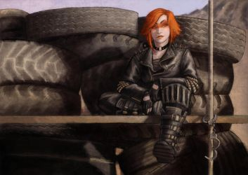 You wanna get out of here? by Raenyras