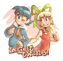 Twins of Light by Sony-Shock