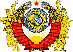 Coat of Arms of the Hooviet Union by Crisostomo-Ibarra