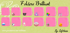 Folders Brilliant Colours by SofithaaxTutoriales