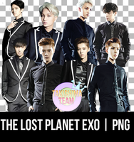 The Lost Planet EXO | PNG Ver. Part 1 by IliTakishimaCho